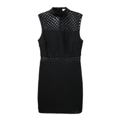 Lattice Fitted Dress