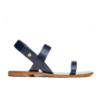 Slingback Sandal In Navy