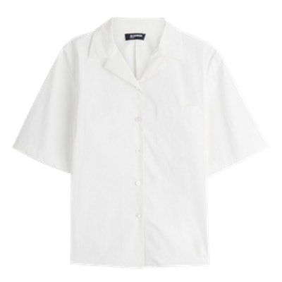 Erene Cotton Poplin Blouse