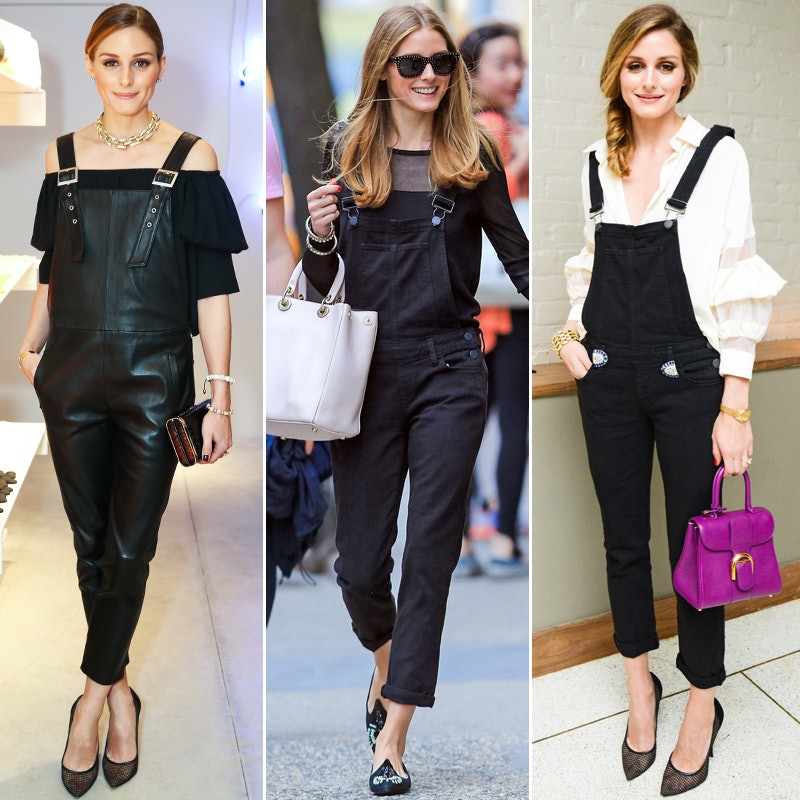 e3131efac09 Olivia Palermo s 3-Step Way to Glam Up Overalls
