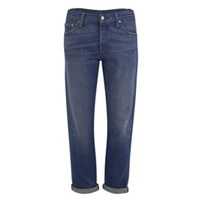 501 Cali Cool Mid Rise Tapered Jeans