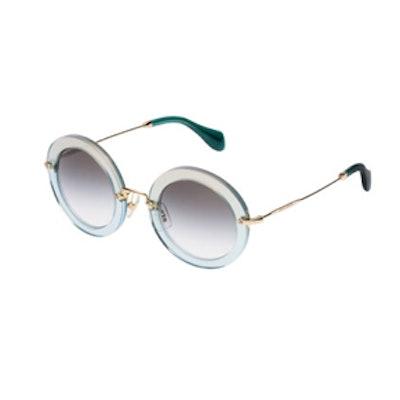 Forest Green Lense Sunglasses