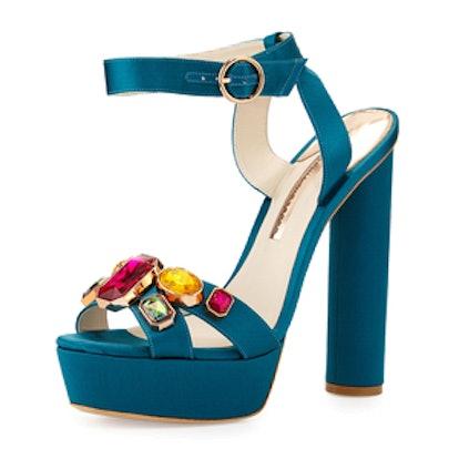 Gem Platform Sandals