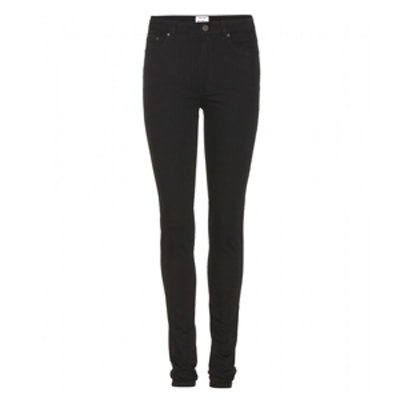 Pin High-Waisted Skinny Jeans