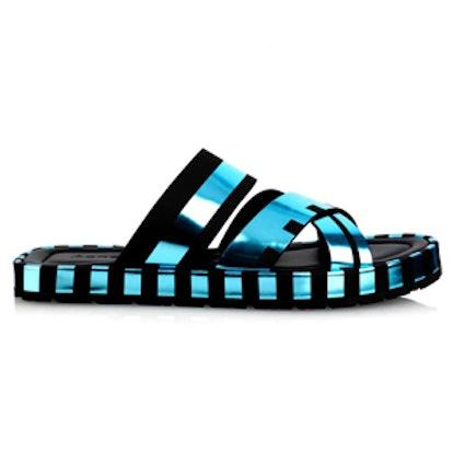 Kleate Leather Slides