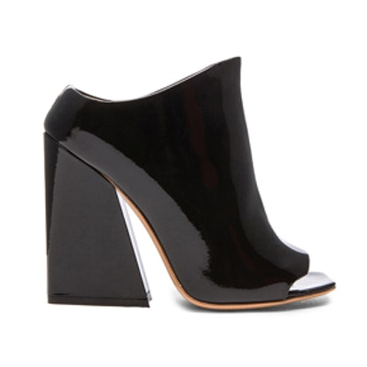 Indi Office Heel Patent Leather Pumps