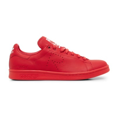 Stan Smith Red Low Top Sneaker