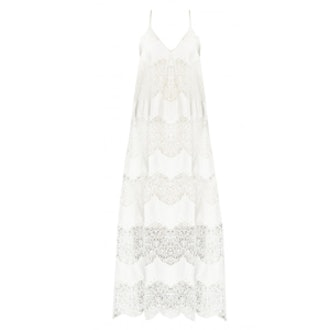Vandy Pleat Dress with Slit