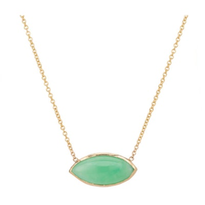 Chrysoprase Marquis Necklace