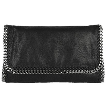 The Fallaballa Faux Brushed-Leather Shoulder Bag