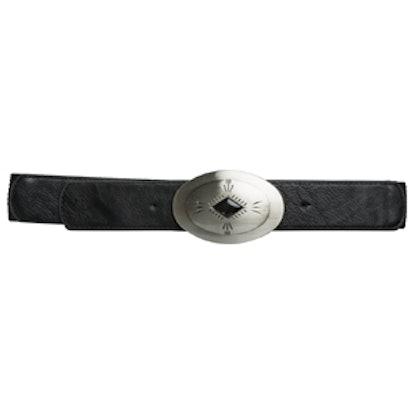 Western Concho Stretch Belt