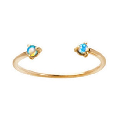 Two Step Opal Ring