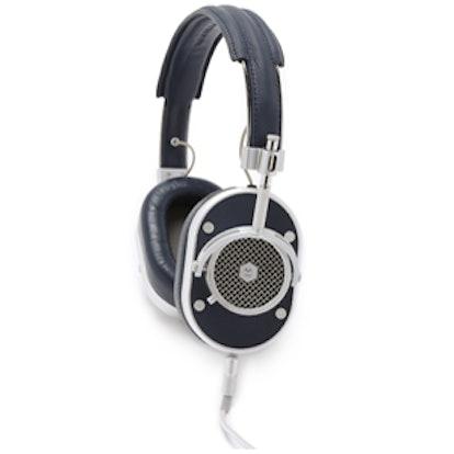Over Ear Headphones in Navy