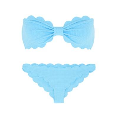 Antibes Scalloped Bandeau Bikini