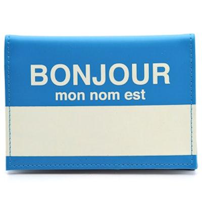Bonjour Passport Case