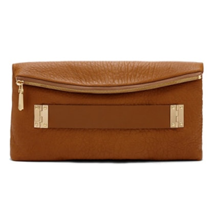 Essy Leather Clutch