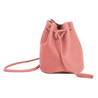 Dana Bucket Bag in Pink
