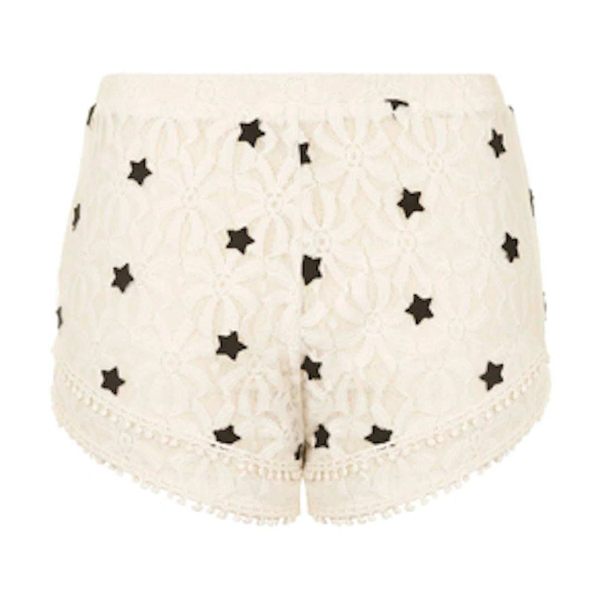 Pinball Lace Shorts