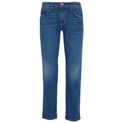 The Fling Mid-Rise Slim Boyfriend Jeans