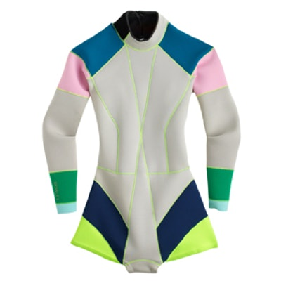 Colorblocked Wetsuit