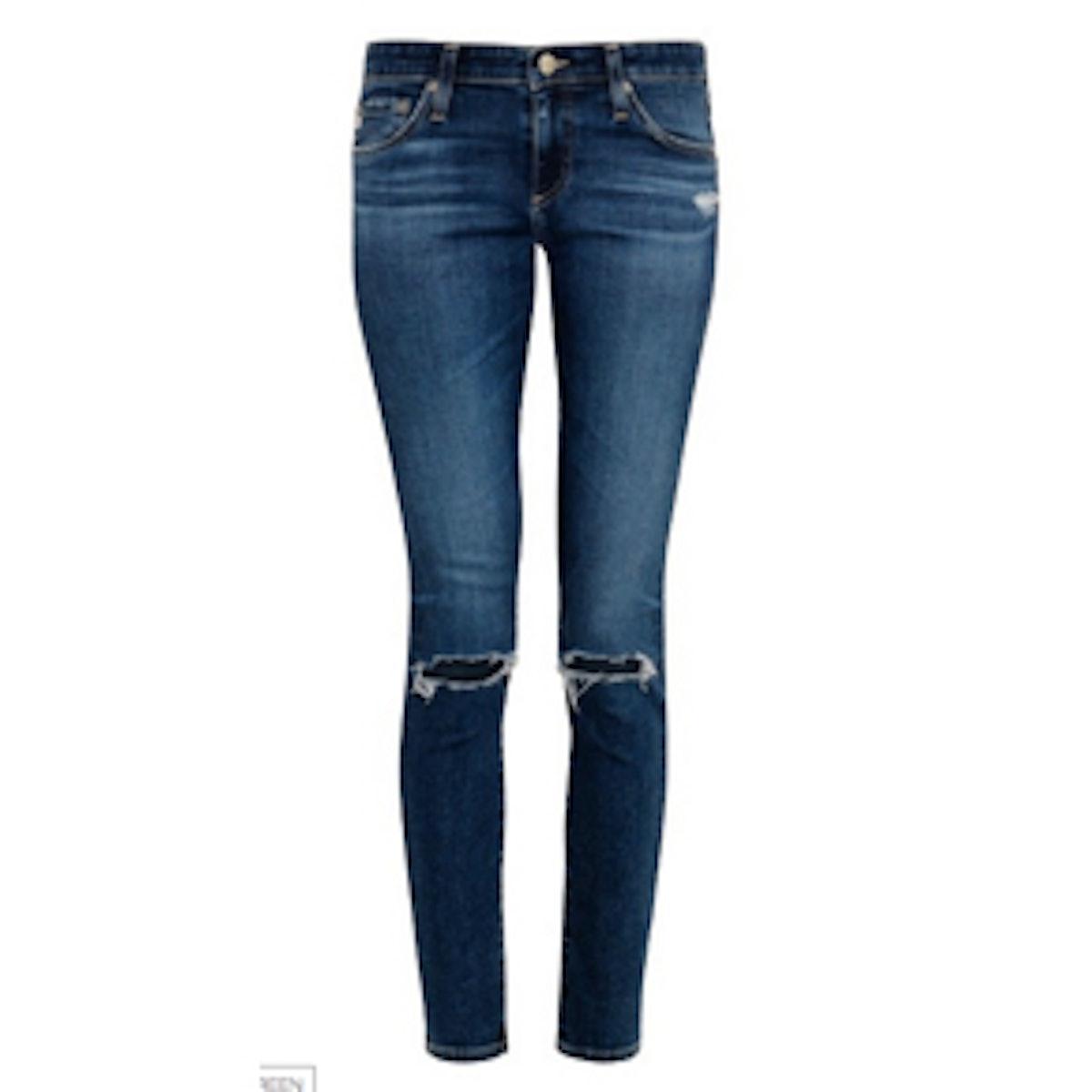 Legging Mid-Rise Skinny Jeans