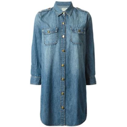Miner Denim Shirt Dress