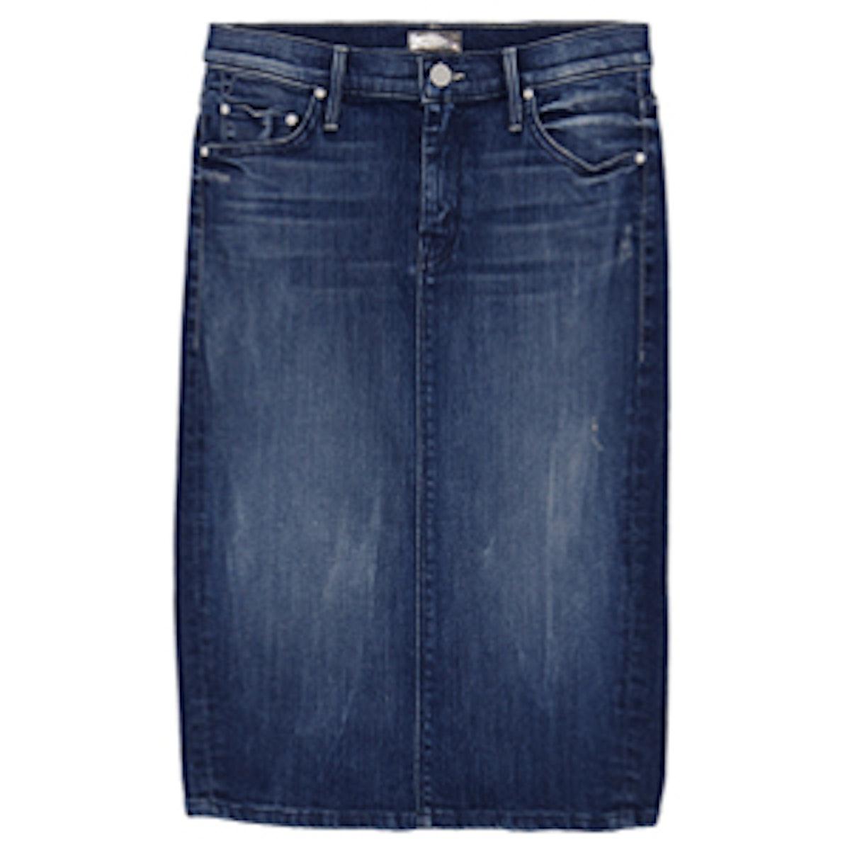 The Peg Slit Skirt