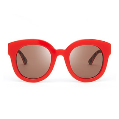 Animalier Oversized Round Sunglasses