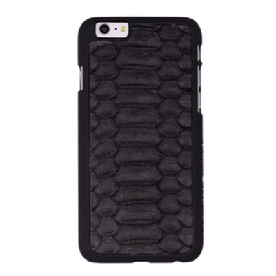 Black Python iPhone Case