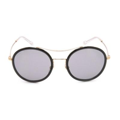 Round Aviator Sunglasses