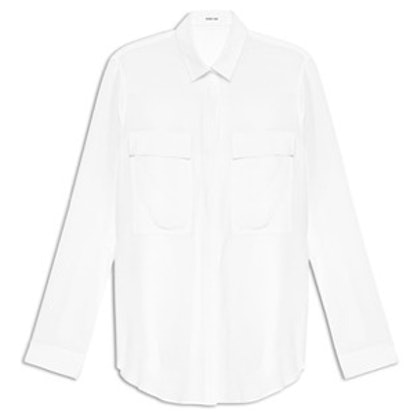 Gaze Crepe Shirt