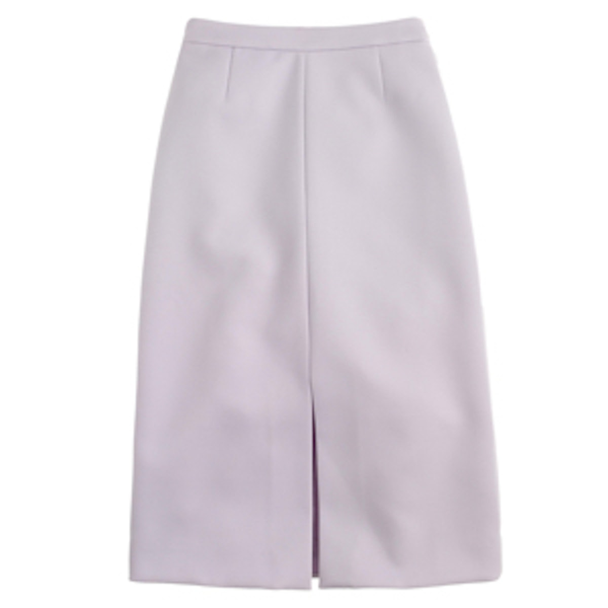 A-Line Skirt In Bonded Twill