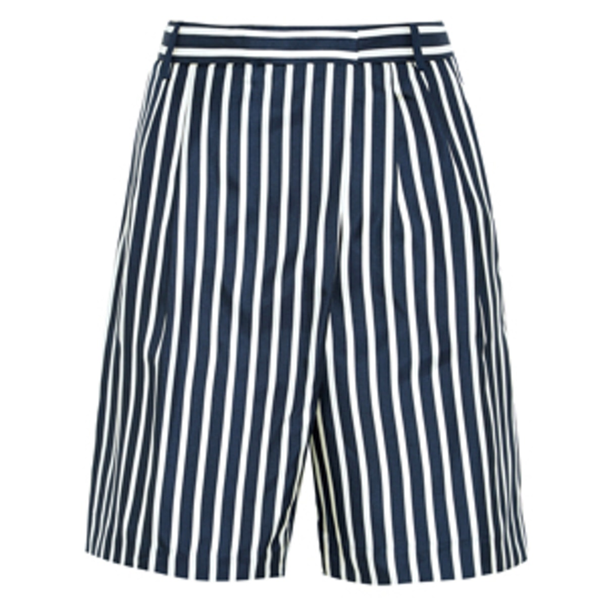Stripe Silk Short