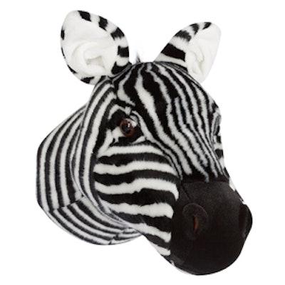 Jenni Kayne Plush Zebra Head