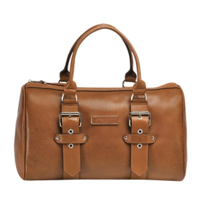 Cognac Duffle Bag