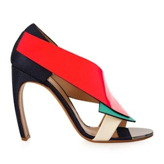 Color-Block Sandals