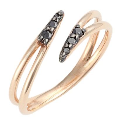 'Lumiere' Diamond Midi Ring