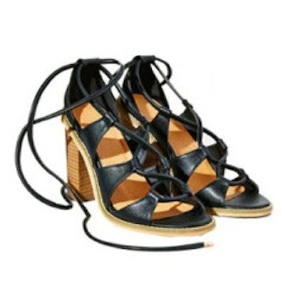 Sofia Lace-Up Heel