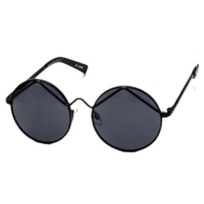 Wild Child Sunglasses in Black