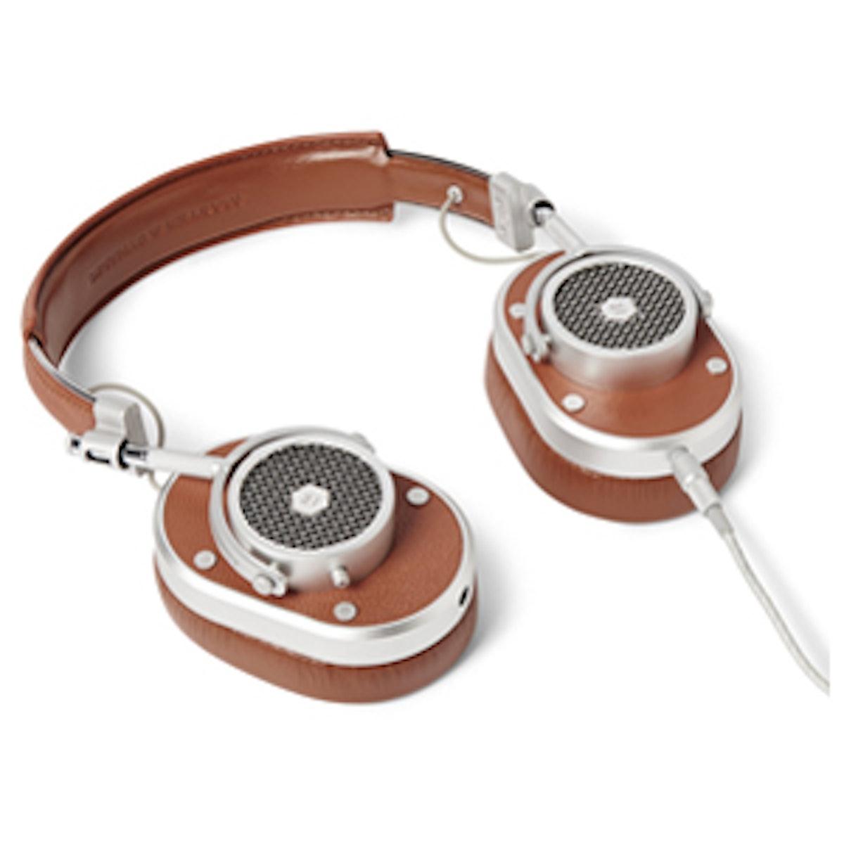 Leather Over-Ear Headphones