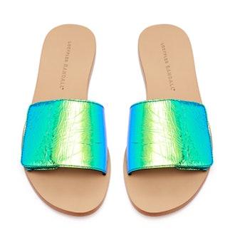 Sibi Velcro Slide Sandal