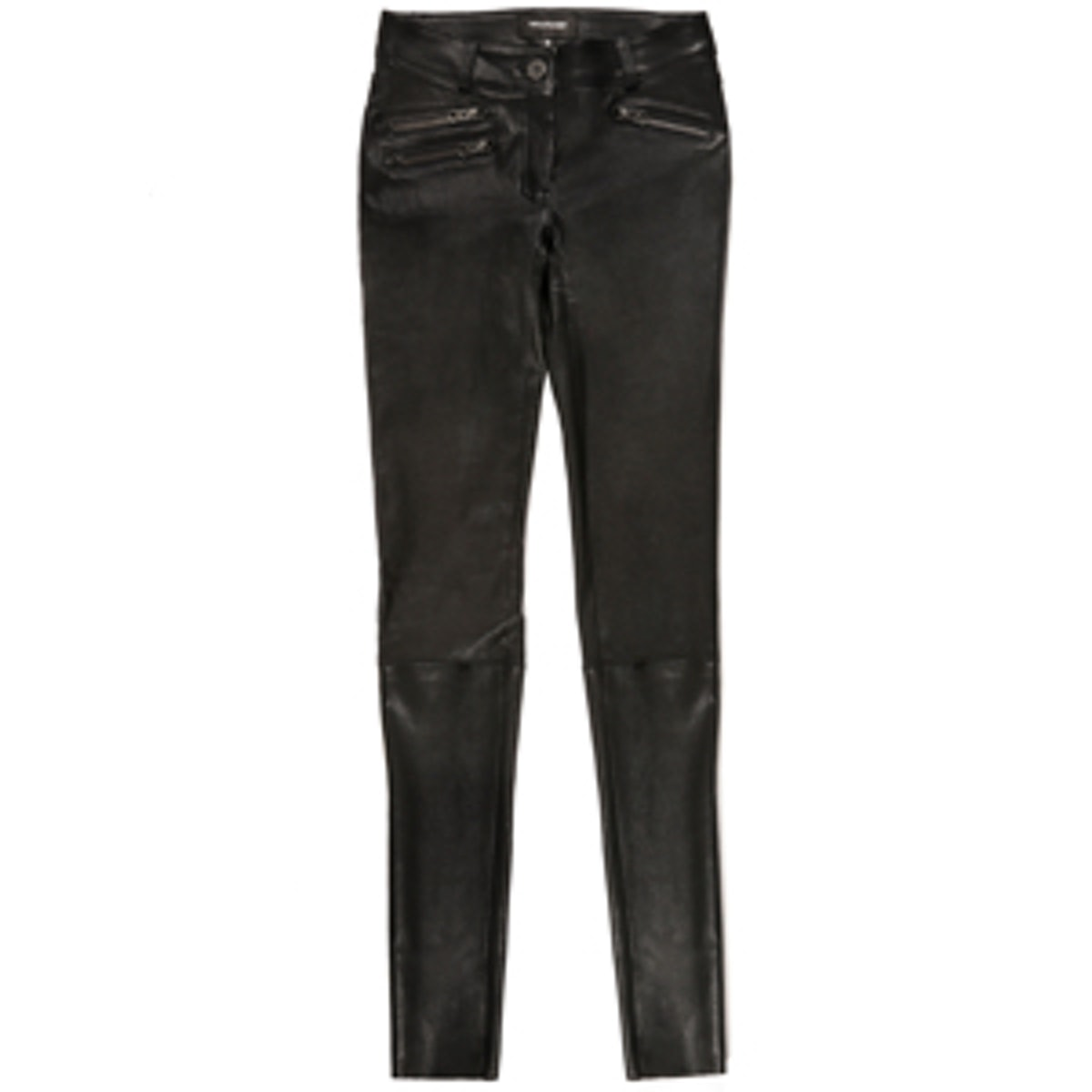 Miki-S4 Black Leather Pants