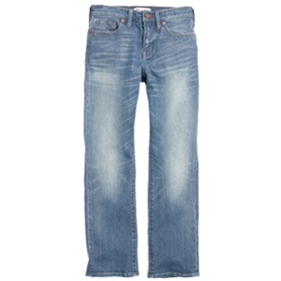 Kick Out Crop Jeans in Thom Wash