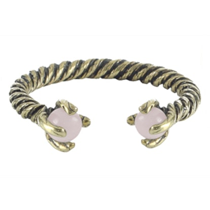 Rope Torque Ring in Brass/Rose