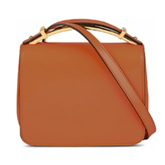 Sculpture Patent Leather Bag