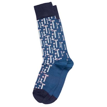 Tool Box Dress Socks