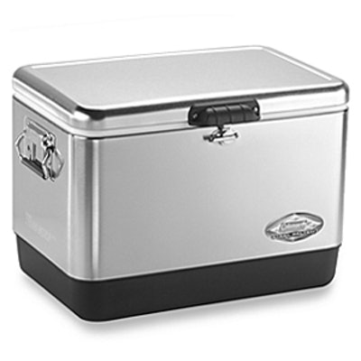 54-Quart Stainless Steal Cooler