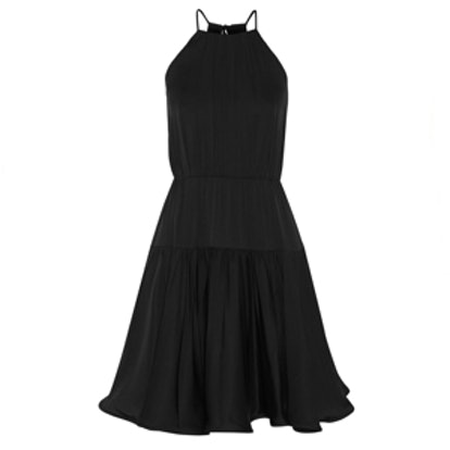 Madison Stretch-Silk Crepe Dress