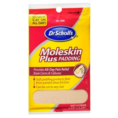 Moleskin Plus Padding Strips