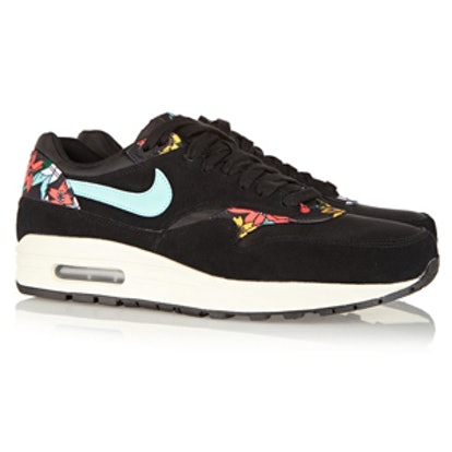 Air Max 1 Suede Printed Sneakers